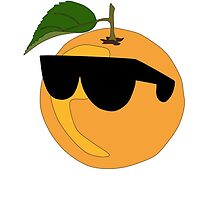 Orange Wearing Shades  by TheoSterling