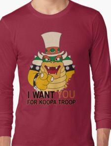 Recruiting for Koopa Troop Long Sleeve T-Shirt