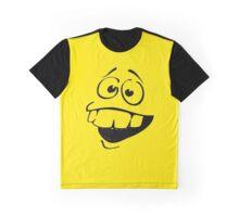 Yellow big teeth face Graphic T-Shirt