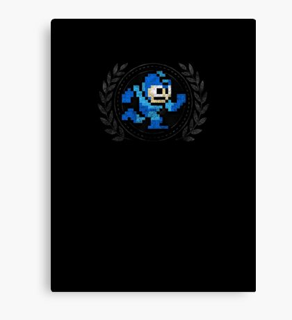 Mega Man - Sprite Badge 2 Canvas Print