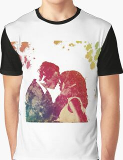 Scandal - Fitz & Olivia - no background *notebooks and journals added* Graphic T-Shirt