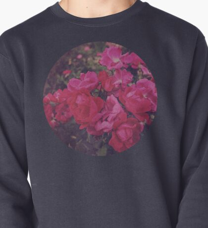 Faded Floral Pullover