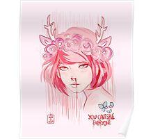 Max Caulfield (pink) Poster