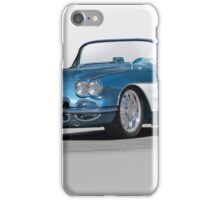 1959 Corvette Convertible iPhone Case/Skin