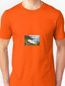 Beach with fine sand. T-Shirt