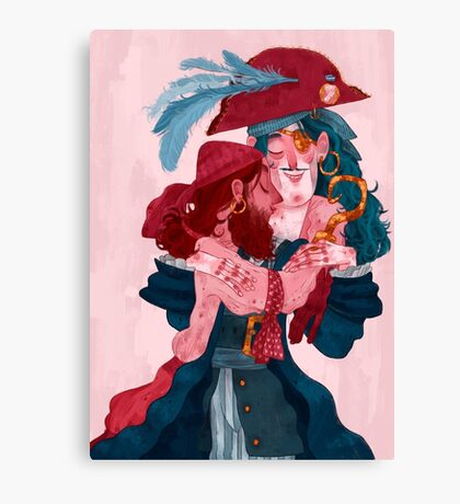 be my valentine - boys Canvas Print