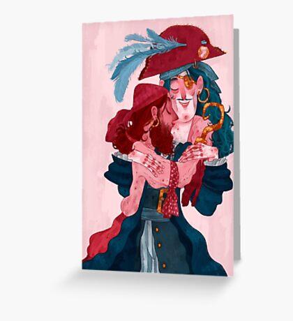 be my valentine - boys Greeting Card
