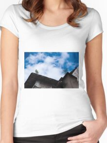 out and up Women's Fitted Scoop T-Shirt