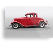 1932 Ford 'Five Window' Coupe Metal Print