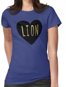 Lion Heart Womens Fitted T-Shirt