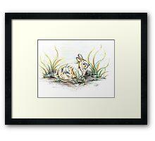 Rabbit so Unique Framed Print