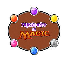 MLP: Friendship is Magic: The Gathering Photographic Print