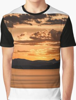 Summer Sunset Graphic T-Shirt