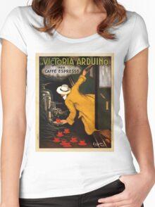 Vintage poster - Vitctoria Arduino Women's Fitted Scoop T-Shirt