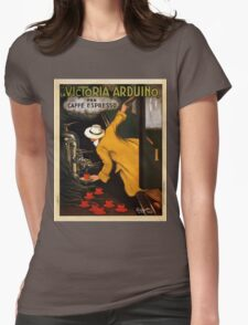 Vintage poster - Vitctoria Arduino Womens Fitted T-Shirt