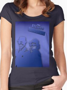 The Blues Brothers Classic Blue Women's Fitted Scoop T-Shirt