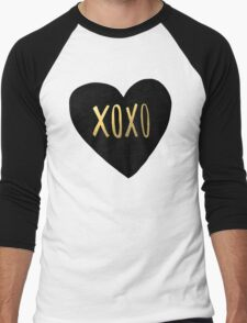 XOXO Men's Baseball ¾ T-Shirt