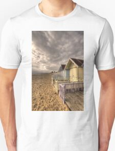 Mersea Island Beach Huts T-Shirt
