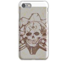 Skulls and guns  iPhone Case/Skin
