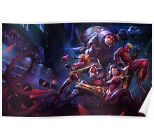 League of Legends, Champion Ship Series, Europe, Lol, Champions, Tshirt, LCS, Worlds, Riot, Rengar, Skin, op, Victory, SKT T1, Team. Poster
