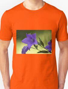 Purple summer flower Unisex T-Shirt
