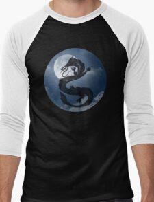 Dragon Haku Spirited Away night sky Men's Baseball ¾ T-Shirt