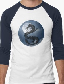 Dragon Haku Spirited Away night sky Men's Baseball ¾ T-Shirt