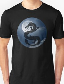 Dragon Haku Spirited Away night sky Unisex T-Shirt