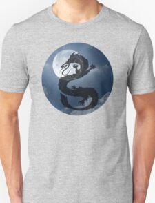 Dragon Haku Spirited Away night sky Unisex T-Shirt