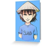 Ching Chong from The Chronicles of CC&M Greeting Card