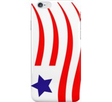 Painted American Flag iPhone Case/Skin