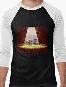 Cute Undertale Design Men's Baseball ¾ T-Shirt