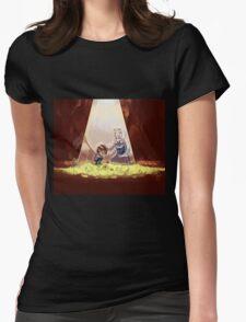 Cute Undertale Design Womens Fitted T-Shirt