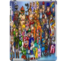 Video Game Characters iPad Case/Skin