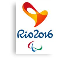 Paralympics in Rio 2016, best logo Canvas Print