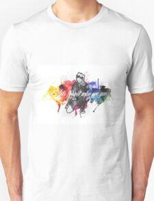 Michael Clifford Jet Black Heart Unisex T-Shirt