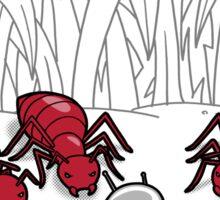 Ant Training Sticker
