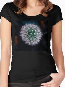 The Dandiest Lion Women's Fitted Scoop T-Shirt