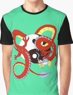 Chinese Dragon of Balance Graphic T-Shirt