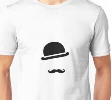 chapeau moustache Unisex T-Shirt
