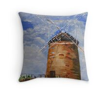 Saint Monan's Windmill Throw Pillow