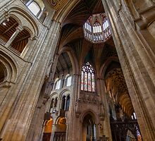 View to the Octagon Tower by DavidCH