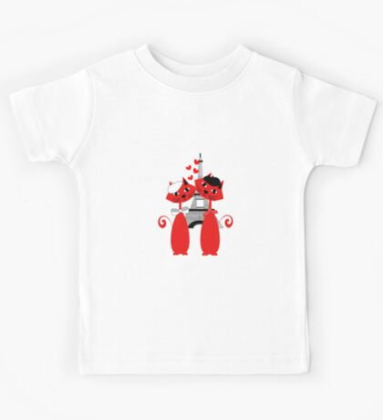 Cute Parisian Cats Kids Tee