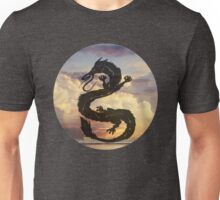 Dragon Haku Spirited Away clouds Unisex T-Shirt