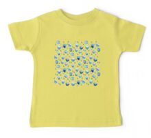 Blue Blossoms Baby Tee