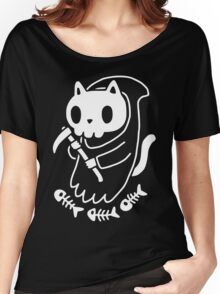 Reaper Cat Women's Relaxed Fit T-Shirt