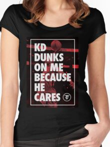 Dunk Me Women's Fitted Scoop T-Shirt