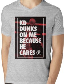 Dunk Me Mens V-Neck T-Shirt