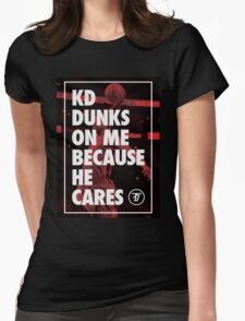 Dunk Me Womens Fitted T-Shirt