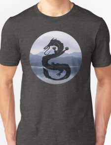 Dragon Haku Spirited Away blue Unisex T-Shirt